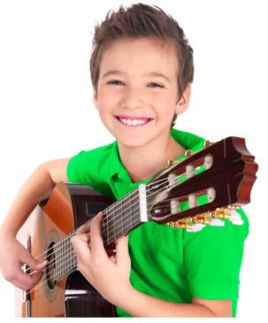 Kind-gitarre